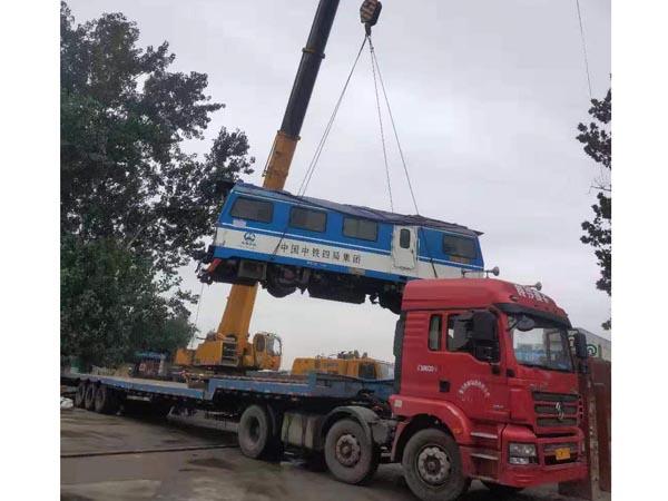 吊裝火車頭