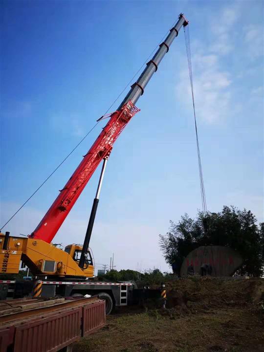 上海履带吊租赁设备吊装步骤
