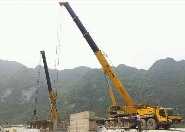 上海高速公路施工現場